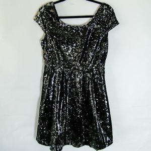 Forever21 Sequined Mini Dress